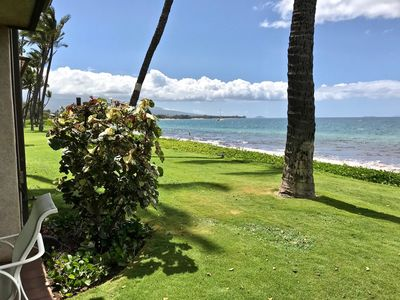Photo for Ma'alaea Surf, Unit D5 - Exquisite Beachfront Condo, 1BR Ground Floor