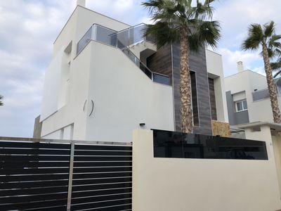Photo for House with private pool near sea and beach.