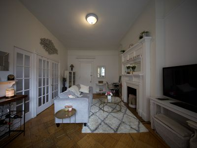 Photo for UWS Charming Queen Bed in Pre-War Brownstone- Walk to Central Park!