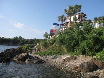 Photo for Beachfront 4BR - Ammouliani Island