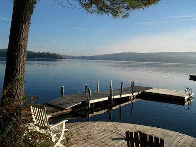 Photo for Sunrise Retreat .....a perfect spot for your Maine lakefront family vacation