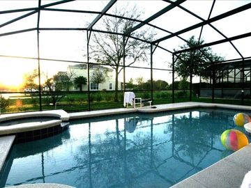 10BR/8BA,SunnyPool/SPA,WiFi,BBQGrill,TVs,GameRoom,From$755/wk/Each House