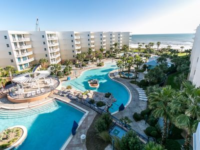 """Photo for """"Waterscape Unit B616"""" 6th Floor! Courtyard and Gulf Views!!"""