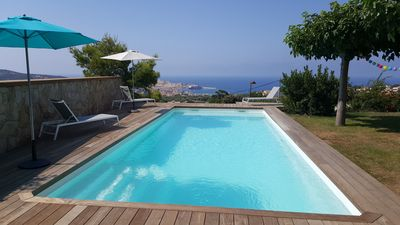 Photo for GROUND FLOOR IN VILLA IN MONTICELLO - EXCEPTIONAL SEA VIEW