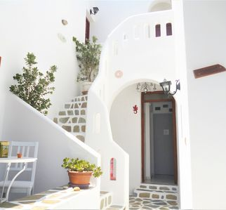 Photo for Cozy studio for 2 people with balcony in Parikia: 150m from Livadia-Beach