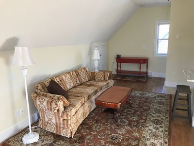 Photo for Private Studio Apartment. 1.5 miles from Blue Shutter Beach, in Charlestown RI.
