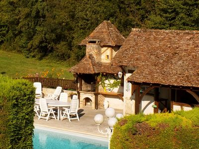 Photo for Holiday home Lavande is an old water mill from the 17th century with a private swimming pool