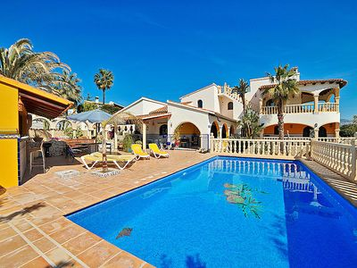 Photo for 4 bedroom Villa, sleeps 11 in Fanadix with Pool, Air Con and WiFi