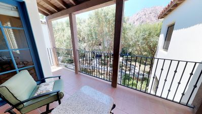 Photo for An Upstairs One Bedroom with a King Bed Just Steps from the Pool and Hot Tub!