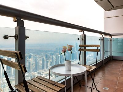 Photo for Breathtaking views from 1BR apartment in Dubai