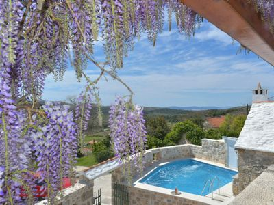 Photo for This 2-bedroom villa for up to 6 guests is located in Donji Humac and has a private swimming pool an