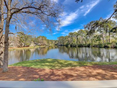 Photo for NEW Listing!Updated Luxury Lakefront 2 BR Townhome in Sea Pines Updated Master Suites New Furniture