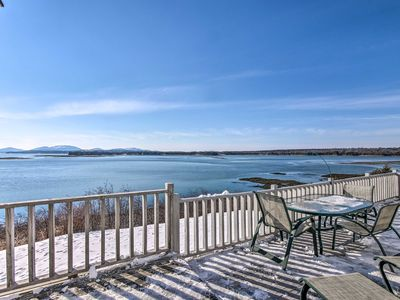Photo for NEW! Waterfront Lamoine Cottage w/ Bay & Mtn Views