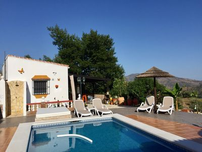 Photo for stand-alone studio, swimming pool, outside bar & private terrace & beautiful views