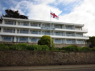 Photo for BayView SeaSide DevonCoast apartment with outstanding bay views
