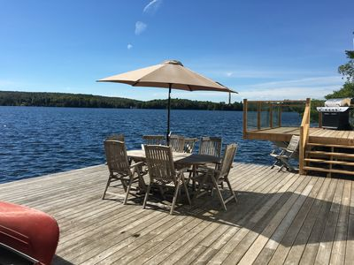 Photo for ORFORD LAKE COTTAGE/ Waterfront With Private nordic spa, Austin