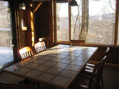 Dining Room with chairs for 8