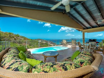 Photo for Ginger Thomas luxury villa in Cruz Bay