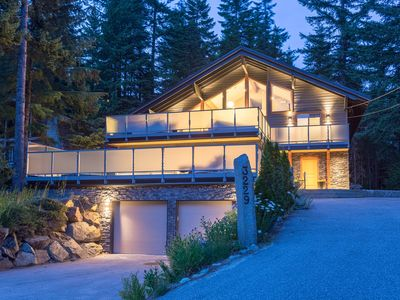 Photo for Alta Lake Chalet: Private Spa, Vaulted Ceiling, BBQs, Cinema, Garden, Decks