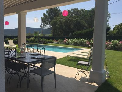 Photo for GULF OF SAINT-TROPEZ - VILLA 8 PERSONS COMFORT