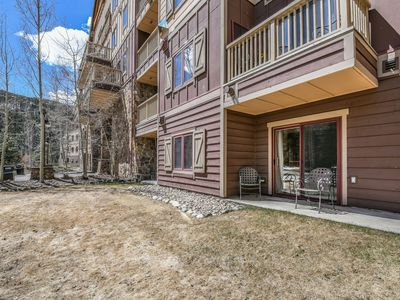 Photo for Walk to Gondola and Summer Festivals! Pool & Hot Tub with Mountain Views!