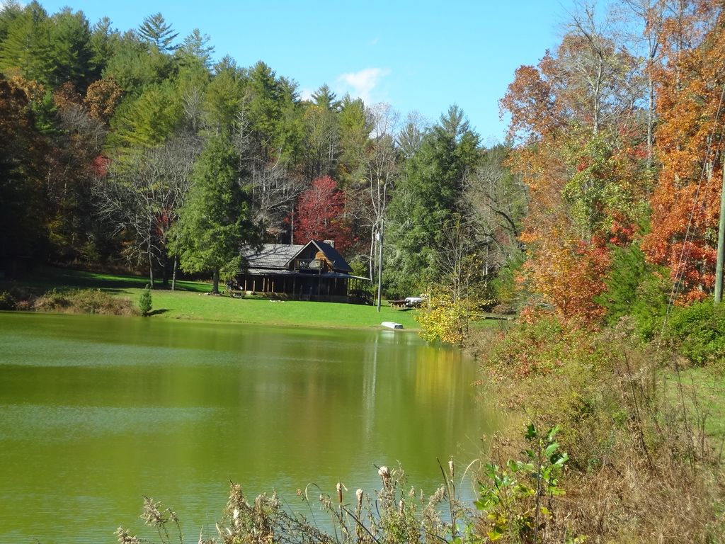 Private Pond Historic Cabin On 12 Acres