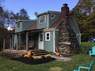 CATSKILL MOUNTAIN HIDEAWAY. Enjoy a retreat in this tranquil setting.