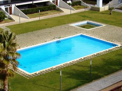 Photo for Club Villamar - Luxury apartment with air conditioning,located at 200m from the sandy beach of Sa...