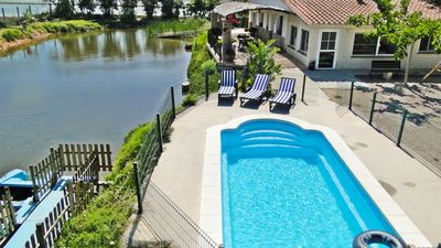 Photo for Country house with fully equipped pool with capacity for 8 people.