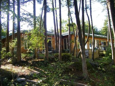 Photo for Private Wilderness Lakehouse On Sandy Lake