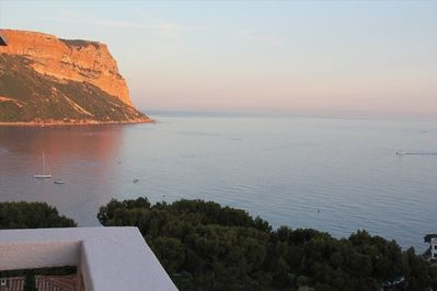 Cap Canaille from balcony
