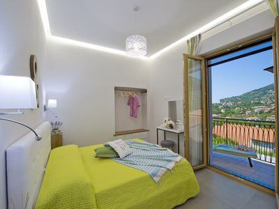 "Photo for Comfortable ""Verde Mare"" Apartment in Agerola on the Amalfi Coast"