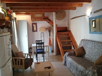 Photo for Comfortable Spanish style studio apartment, Old town, Three mins walk to beach
