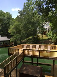 Photo for Camp Beech, Large Party Dock,3.5 Rust Acres,Deep Water Cove,Like New!