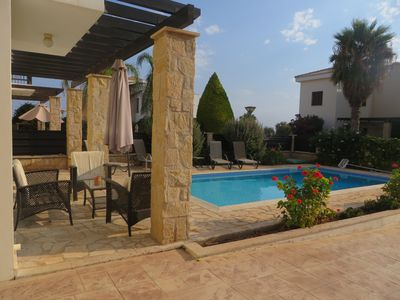 Photo for Villa Selena In Cavo Greco Area with pool and Air-Conditioning. (sleeps 6)