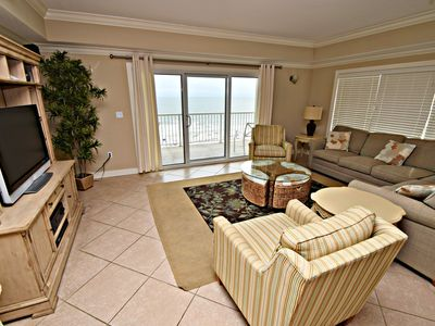 Photo for Escapes 605- 6th Floor Luxury! 3BR w/ Bonus room,Book Your Summer Fun Now!