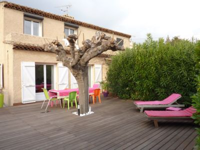 Photo for Villa, ideal for holidays located at 100 M of the big beach of Lecques