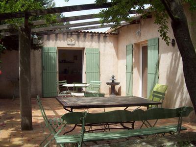 Photo for Large house with garden in a quiet prox. Aix en Provence and the sea