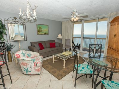 Photo for Pelican Beach 1811 is a Gulf front 1 BR that sleeps 6 - amazing views