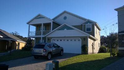 Photo for 4bed/5bath Splendid Disney/Golf Villa Providence, Orlando, Fl with private pool