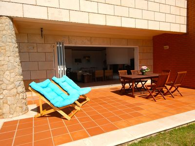 Photo for Windsurf - Sea view apartment for 6 people in great resort, 1km to the beach