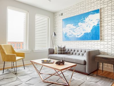 Photo for Sonder | Frankford Flats | Serene 2BR + Rooftop