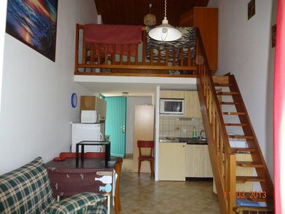 Photo for Studio rental 7 for 4 people near the sea and shops