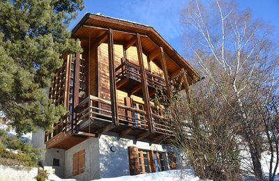 Photo for Outside : Modern architecture chalet of 3 floors, for 6 person, beautiful  panoramic viewInside : 16