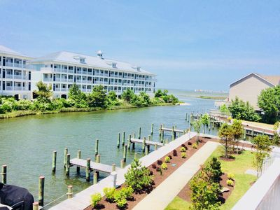 "Photo for ""Bayside Retreat"" - New Townhouse - Waterfront/Bay Views - 1.5 Blocks to Ocean"