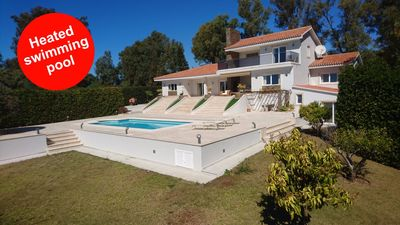 Photo for Luxury Villa, private heated pool with the sea view, golf and beach Cabopino