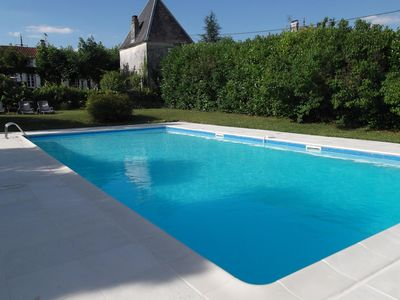 Photo for Beautiful Holiday Farmhouse with private Pool, Poitou-Charentes, France