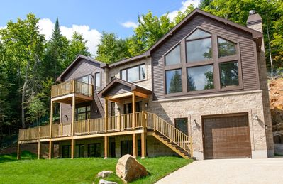 Photo for Manitonga: 5  BR, 6.5  BA House in Mont-Tremblant, Sleeps 12