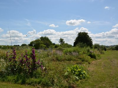 Explore the owners extensive gardens with a 'help yourself' herb garden
