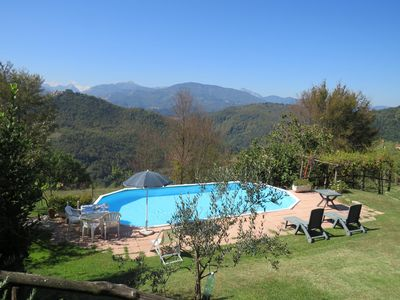 Photo for Apartment With Private Garden And Shared Pool, Beautiful Mountain Views